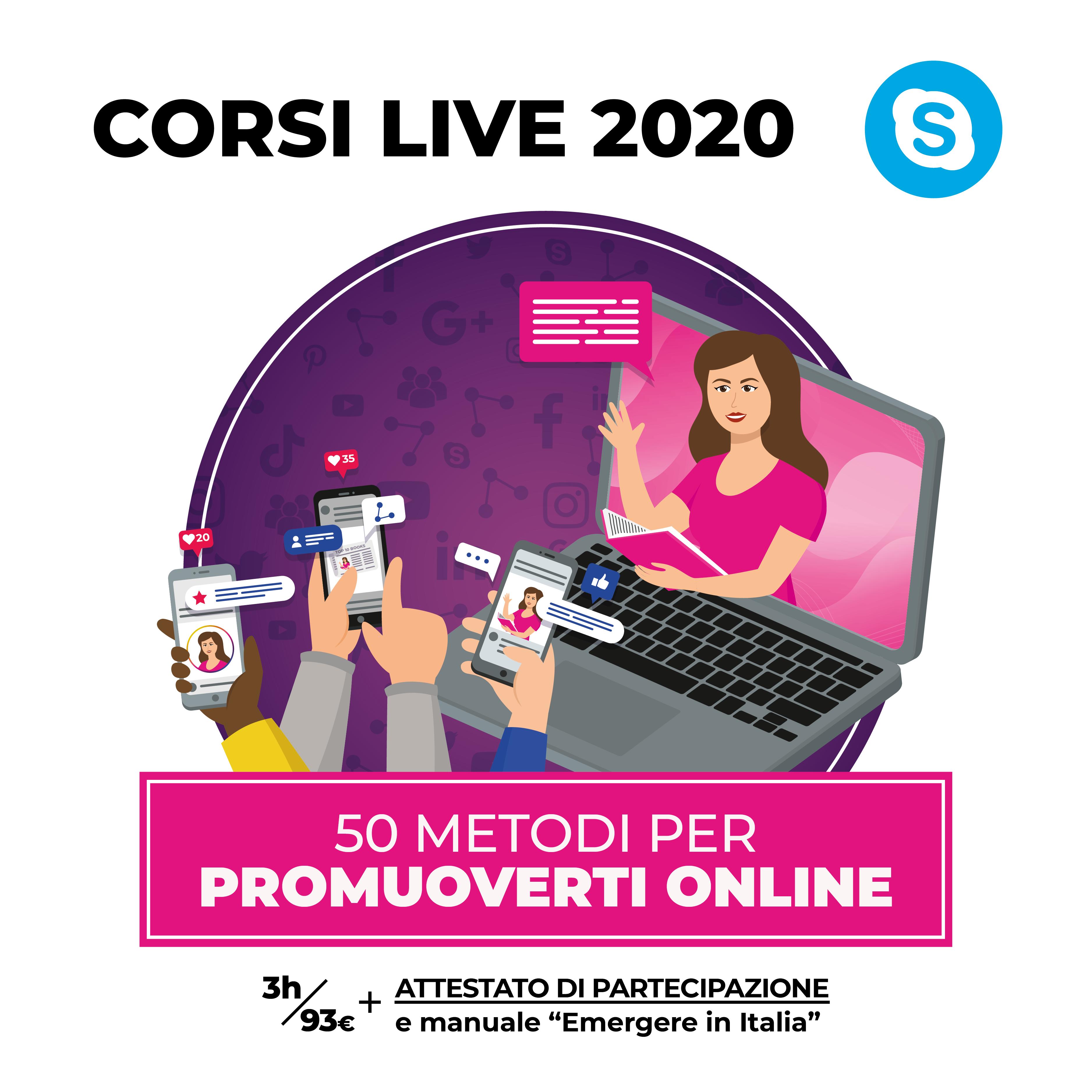 Cinquanta metodi per promuoversi online